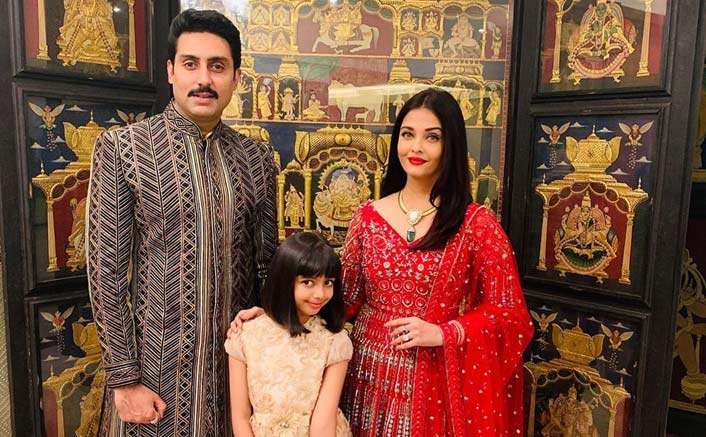 Attending A Wedding Reception? Aishwarya Rai's Red Anarkali Suit Is Just The Outfit For You