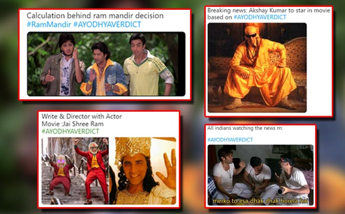 #AyodhyaVerdict: Get Over Hindu-Muslim! These Bollywood Memes Will Surely Tickle Your Funny Bone
