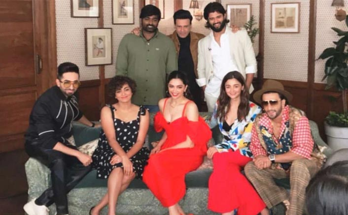 VIRAL Pic: Deepika Padukone, Alia Bhatt, Ayushmann Khurrana, Vijay Deverakonda & Others Meet To Discuss Cinema