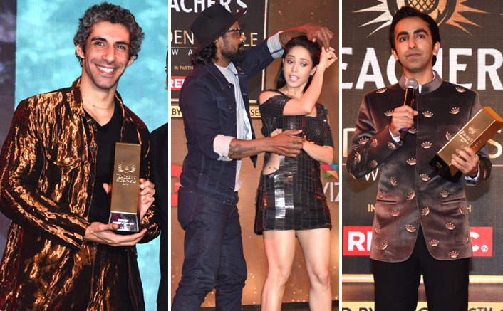 Ayushmann Khurana, Jim Sarbh, Nushrat Barucha, Remo D'Souza, Pankaj Advani and Many More Genuine Achievers Celebrated at the Teacher's Golden Thistle Awards