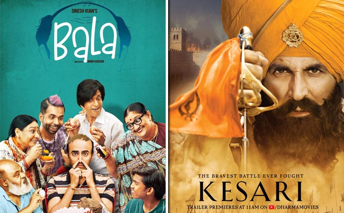 Bala Box Office: Beats Akshay Kumar's Kesari In Highest Mondays Of 2019! Check Out The Complete List