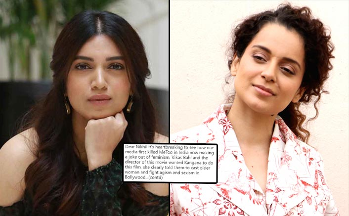 Bhumi Pednekar Has THIS To Say On Thailavi Actor Kangana Ranaut's Ageism Comment On Saand Ki Aankh