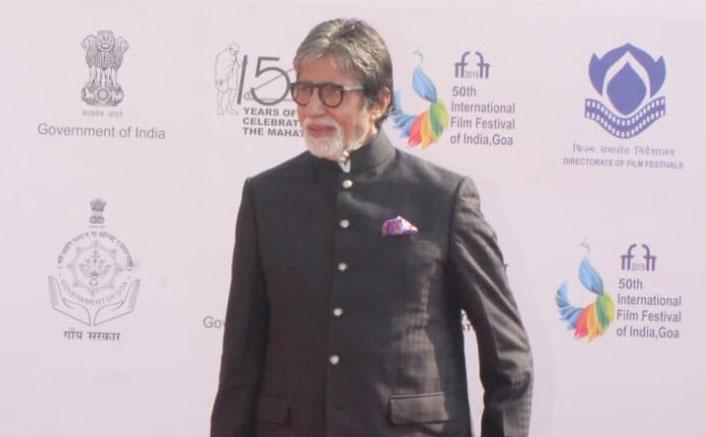 Big B nostalgic at IFFI opening; recalls shooting first film in Goa
