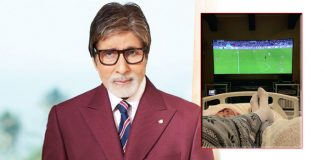 Big B shares his bed-ridden photograph