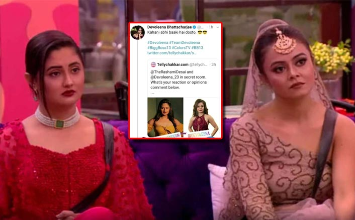 Bigg Boss 13: Rashami Desai, Devoleena Bhattacharjee In A Secret Room; Latter CONFIRMS!