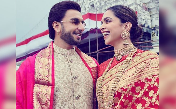 Bookmark Deepika Padukone's First Wedding Anniversary Sabyasachi Sari For Your Special Day