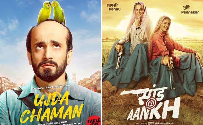 Box Office - Ujda Chaman drops on Monday, Saand Ki Aankh keeps its hold