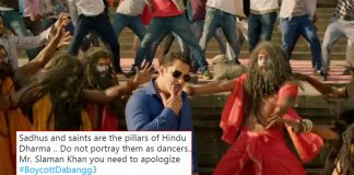 #BoycottDabangg3: Salman Khan Starrer Faces Rage For Making Sadhus Dance In Munna Badnaam Hua!