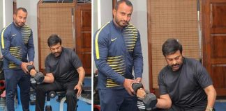 Chiru 152: Chiranjeevi Sweats It Out In The Gym For His Next Action Drama