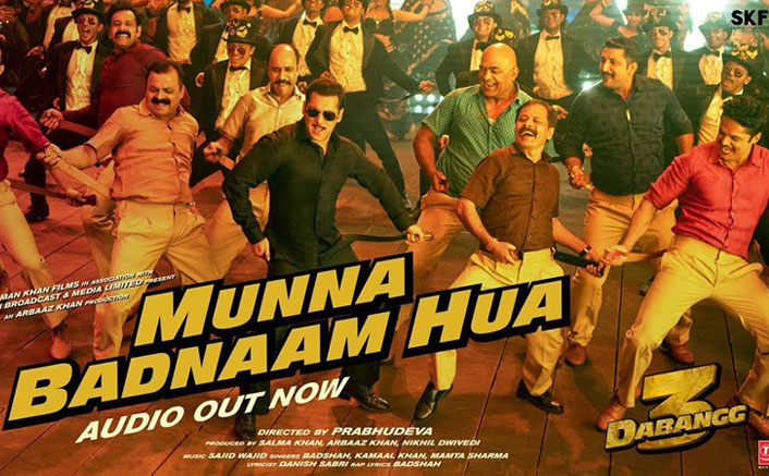 Munna Badnaam Hua Song From Salman Khan's Dabangg 3 OUT; Chulbul's Swag, Badshah's Rap & One Kamaal Ka Chartbuster!