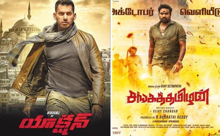 Clash: Vishal's 'Action' To Lock Horns With Vijay Sethpathi's 'Sanga Thamizan' At Box Office