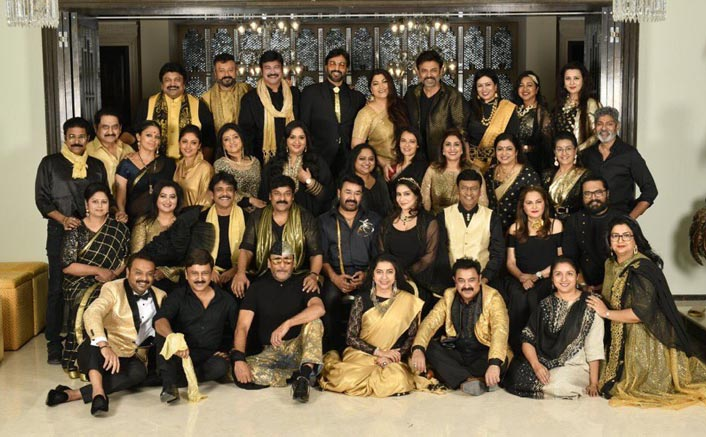 Class Of '80s: Mohanlal, Nagarjuna, Venkatesh, Jackie Shroff Along With Others Have A Gala Time At Reunion Bash By Chiranjeevi