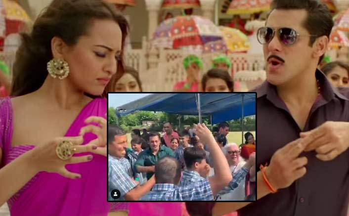 Dabangg 3: Salman Khan Dancing On Yu Karke With Differently-Abled Kids In Jaipur Is Winning The Internet