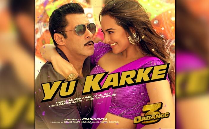 Dabangg 3's New Song Yu Karke OUT! Salman Khan Croons The Peppy Number