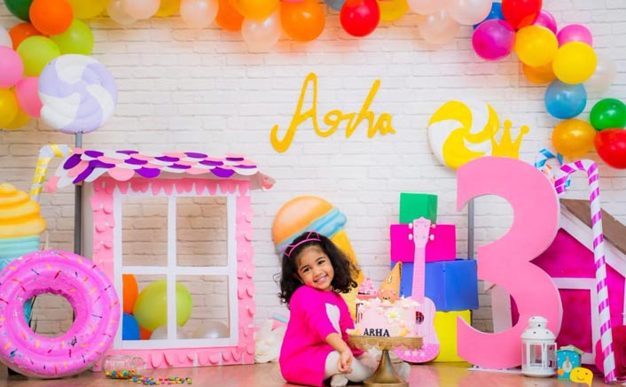 Allu Arjun Shares An Adorable Picture Of Daughter Arha With A Cute Birthday Wish