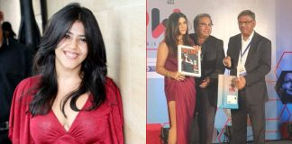 Ekta Kapoor bagged 'Most Powerful Business Women of the year' at a recent awards function!