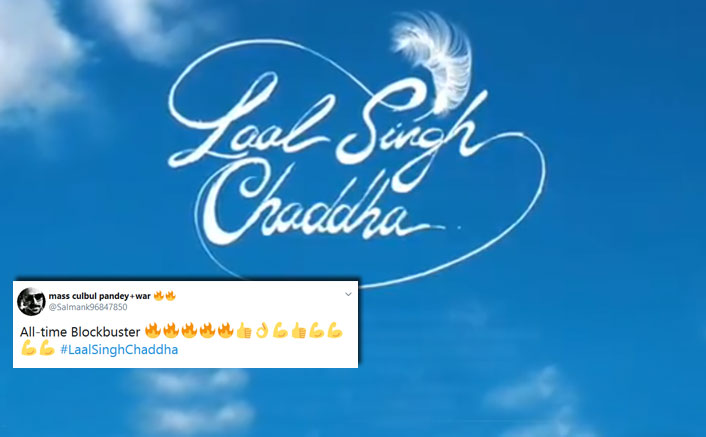 Fans trend #LaalSinghChaddha on Twitter upon the release of the 'breath of fresh air' motion logo released by Aamir Khan today!
