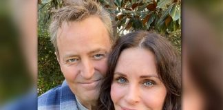 FRIENDS: Courteney Cox & Matthew Perry's Come For A MONDLER Selfie Together & We Can't Keep Calm