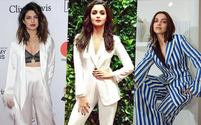 From Priyanka Chopra Jonas To Deepika Padukone, Actresses Who Rocked The Pant-Suit Look Like A BOSS!