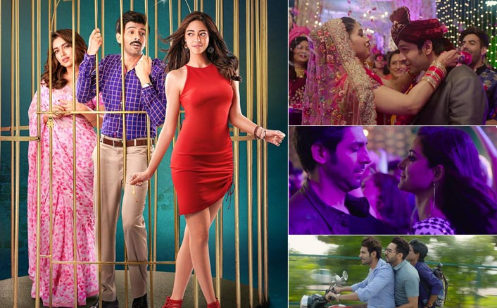 Get ready to go on a fun ride with Kartik Aaryan, Bhumi Pednekar & Ananya Panday's Pati Patni Aur Woh trailer!