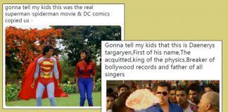 #GonnaTellMyKids: From Salman Khan's Hud Hud Song To Govinda's Superman Avatar- The Fresh Memes Are Here To Feed Your Appetite