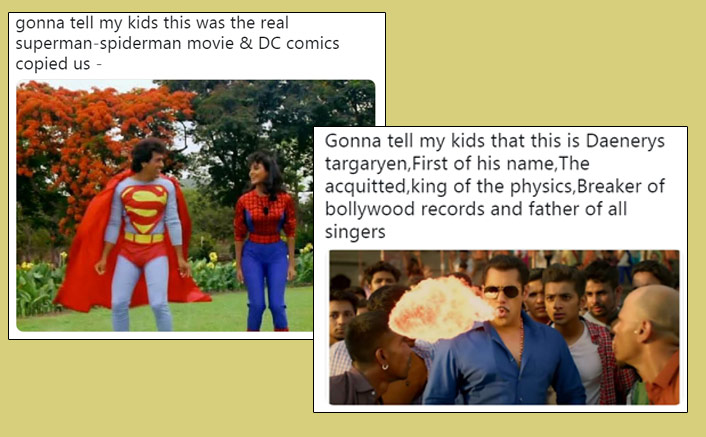 #GonnaTellMyKids: From Salman Khan's Hud Hud Song To Govinda's Superman Avatar- The Fresh Memes Are Here To Feed Your Appetite