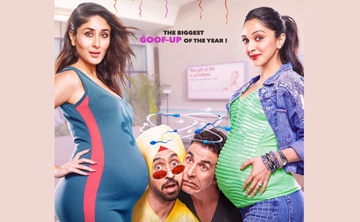 Good Newwz NEW Poster: Akshay Kumar-Diljit Dosanjh's Goof Up Is Filled With Glamour & Baby Bumps!
