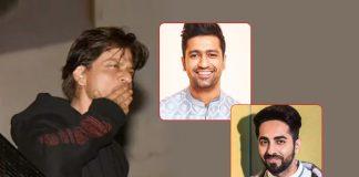 #HappyBirthdayShahRukhKhan: From Vicky Kaushal To Ayushmann Khurrana – Celebs Pour Wishes