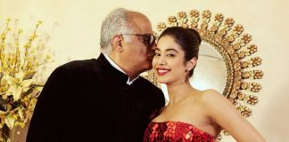 Here's how Janhvi Kapoor wished papa Boney Kapoor on his b'day