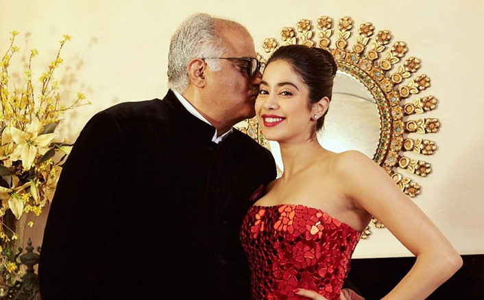 """Janhvi Kapoor Shares A Heartfelt Message For Father Boney Kapoor On His Birthday: """"Will Make You So Proud"""""""