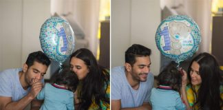 Here's What Daddie Angad Bedi Wishes For His & Neha Dhupia's Daughter Mehr On Her 1st Birthday