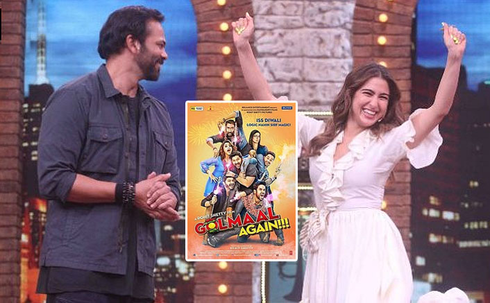 Rohit Shetty Reveals Sara Ali Khan Being Part Of Next Golmaal Film But Here's What Happened Next