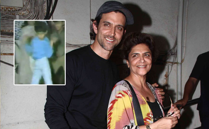 Hrithik Roshan's Mother Pinkie Roshan Shares A Throwback Video Of Him Dancing On Dhanno & It's Too Cute To Handle!