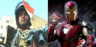 Inspired By Iron Man Suit, A Guy From Varanasi Designs A Prototype For Indian Army
