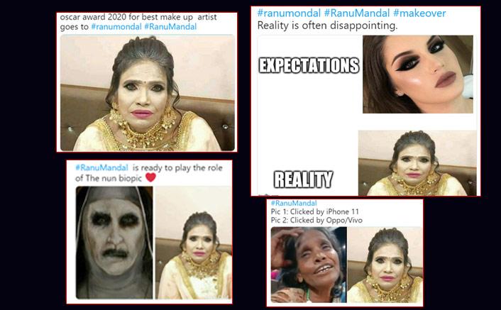 Internet Sensation Ranu Mondal's Shocking Make-Up Transformation Has Left The Internet In Splits