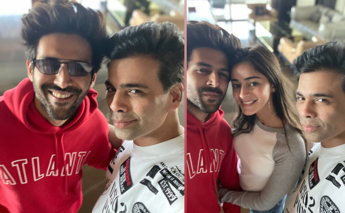 Is Karan Johar HINTING That There's Actually Something Cooking Between Kartik Aaryan & Ananya Panday?