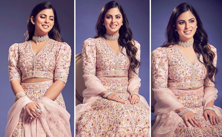Isha Ambani's Powder Pink Floral Lehenga Can Be This Season's Favourite Bridal Lehenga, Here's Why