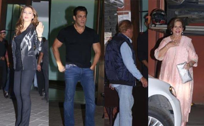 Salman Khan & Family Enjoy Double Celebrations; Bollywood Celebs Attend The Bash