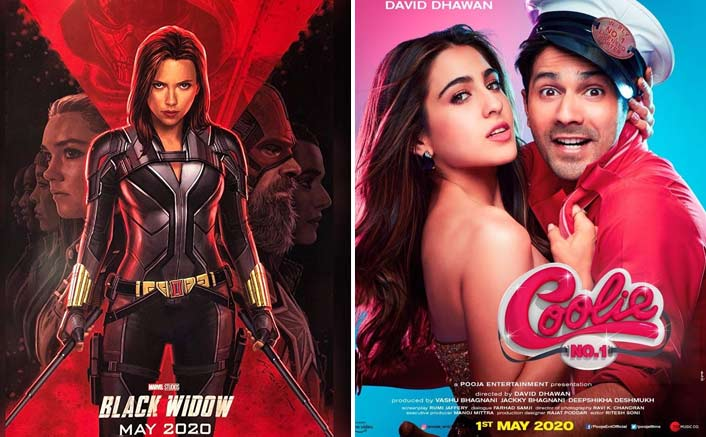 It's Hollywood V/s Bollywood May 2020: Coolie No. 1 To Clash With Black Widow