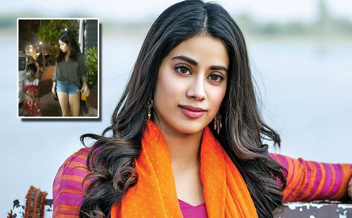 Janhvi Kapoor Tells Media To Shut The Cameras As She Helps An Underprivileged Girl Child, WATCH