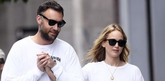 Jennifer Lawrence off to a super-expensive honeymoon