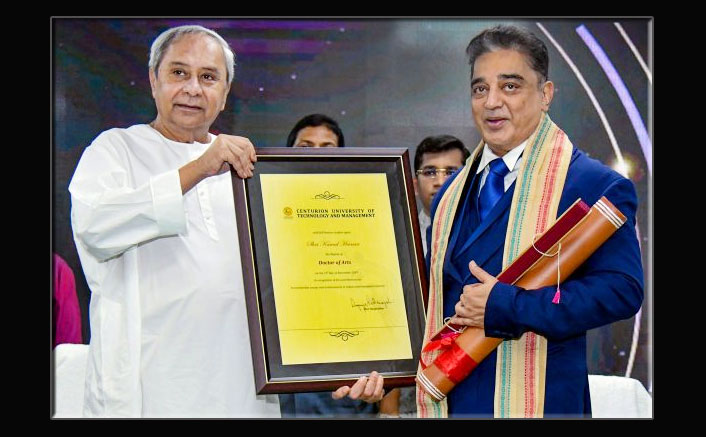 Kamal Haasan Felicitated With Honorary Doctorate By Odisha University