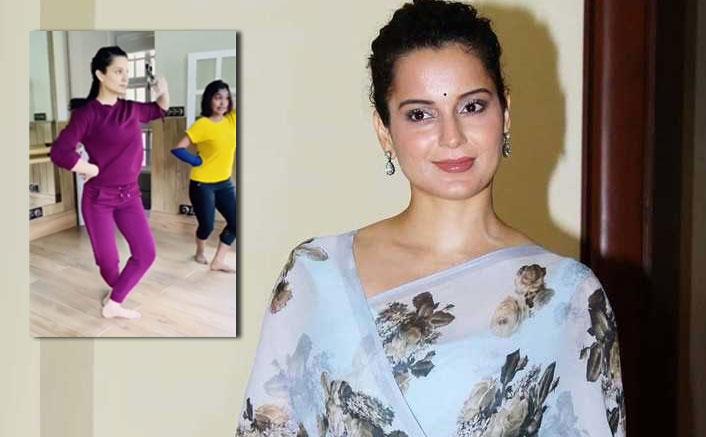 Kangana hones dance skills for Jayalalithaa pic at Manali residence