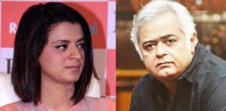 Kangana Ranaut's Sis Rangoli Tweet An Indirect Dig At Simran Director Hansal Mehta?