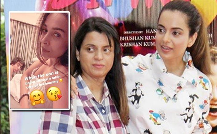 Kangana Ranaut's Sister Rangoli Chandel Trolls Malaika Arora For Her Pic With Son Arhaan, Gets Slammed By Twitterati