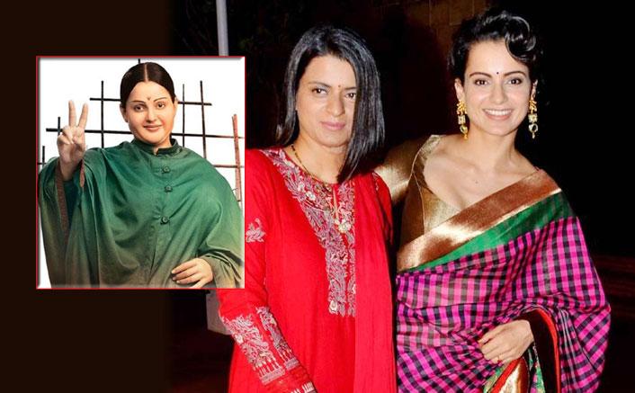 Kangana's sister defends actress's Jayalalithaa look against trollers