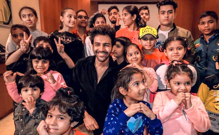Kartik Aaryan Celebrates Childrens' Day In A Very Special Way & It's Adorable
