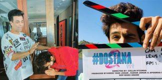 Kartik Aaryan Kick Starts Dostana 2 In Chandigarh, Pic Inside