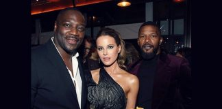Kate Beckinsale denies dating Jamie Foxx