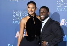 Kevin Hart enjoys dinner date with wife